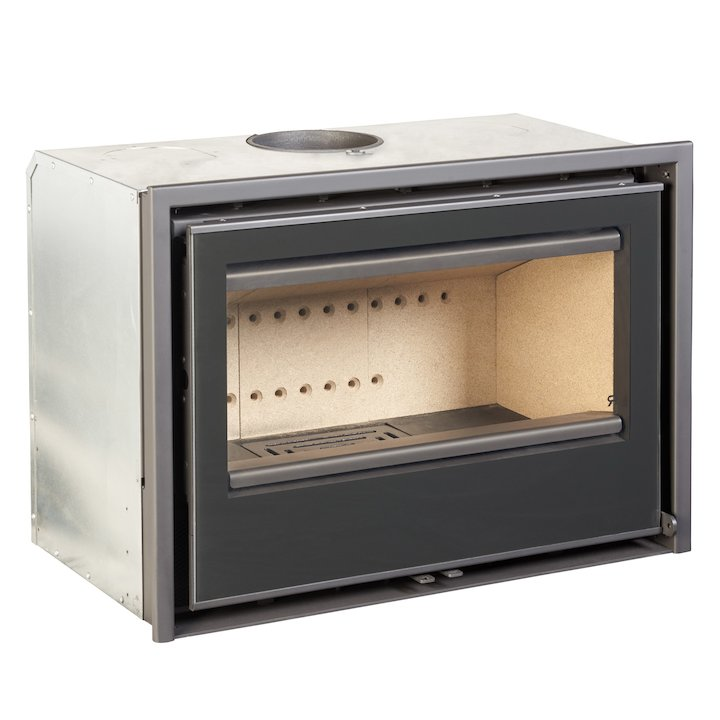 Rocal ARC 70c Wood Cassette Fire - Black Glass