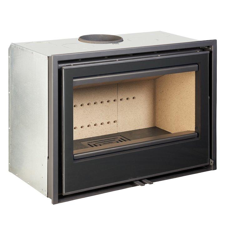 Rocal ARC 80 Wood Cassette Fire - Black Glass