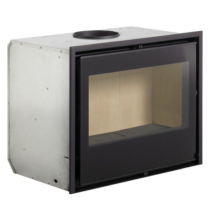 Rocal RCR 70a Wood Cassette Fire - Black Glass