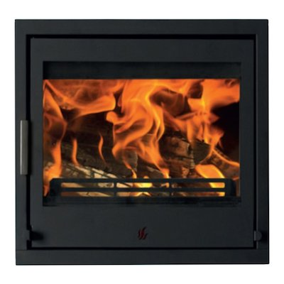 ACR Tenbury T550 Multifuel Cassette Fire - Frontal Black Four Sided Frame