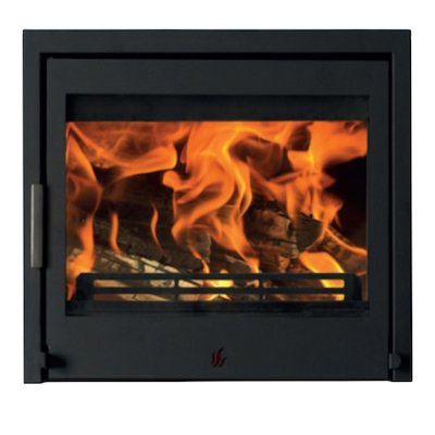 ACR Tenbury T550 Multifuel Cassette Fire - Frontal Black Three Sided Frame
