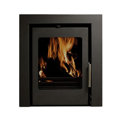 Beltane Holdford 6 Multifuel Cassette Stove Black Three Sided Frame