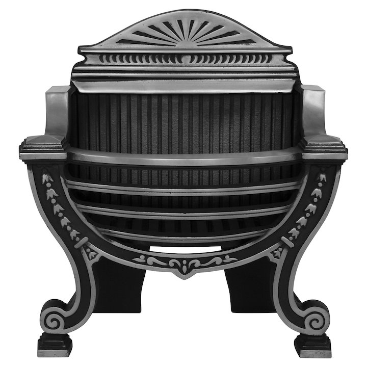 Carron Balmoral Firebasket - Black