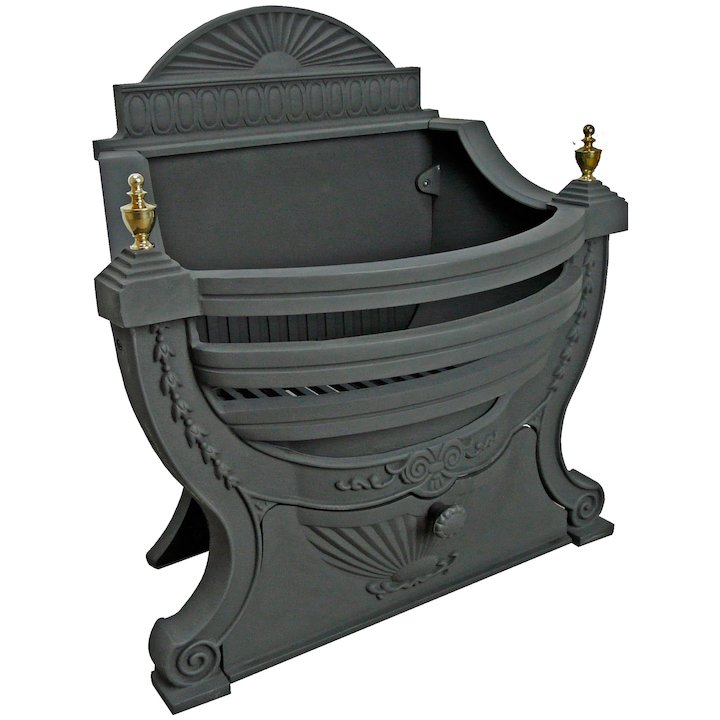 Manor Victorian Firebasket - Black