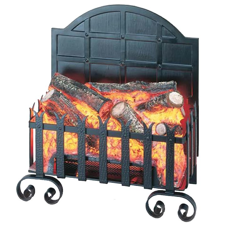 Burley Lydington Forge Electric Firebasket - Black