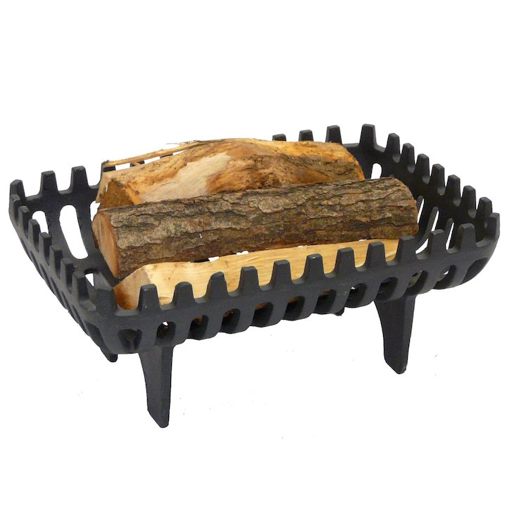Manor Cromwell Solid Fuel Firebasket - Black