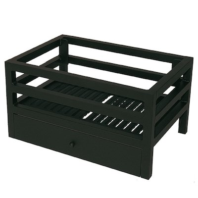 Calfire Modula Mini Solid Fuel Firebasket Black No Back