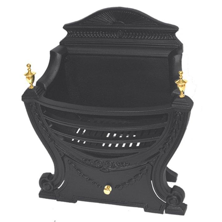 Calfire Adam MK2 Solid Fuel Firebasket - Black