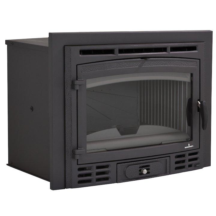 Bronpi Canada Rustico Wood Cassette Fire - Black