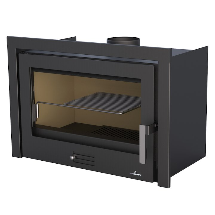 Bronpi Coliseo Wood Cassette Fire - Black