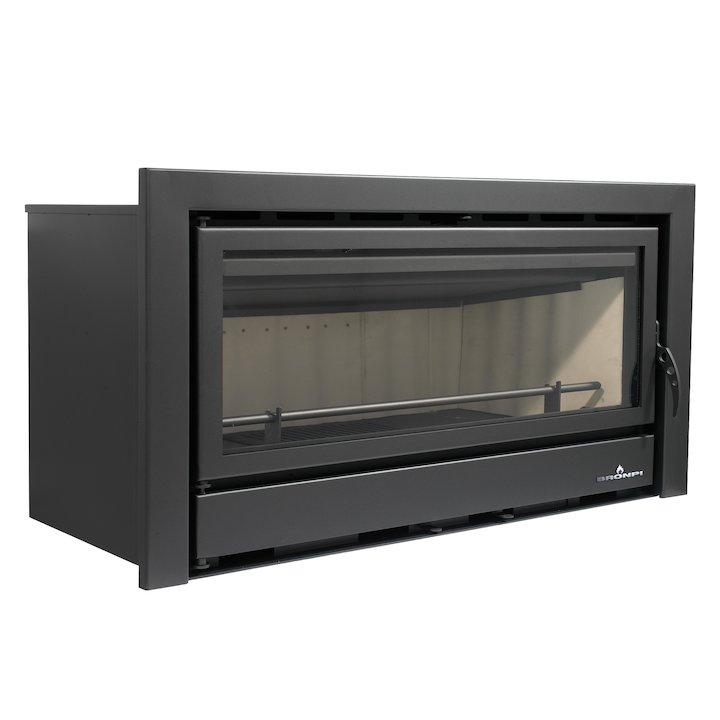 Bronpi Kenia 110 Wood Cassette Fire - Black