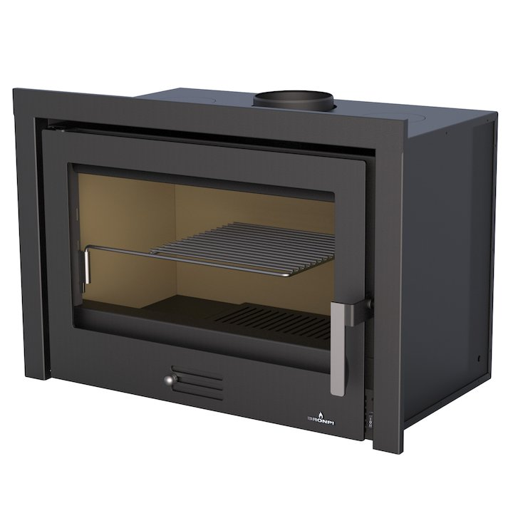 Bronpi Rioja Wood Cassette Fire - Black