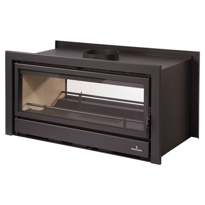 Bronpi Kenia 110D Wood Cassette Fire - Tunnel - Black