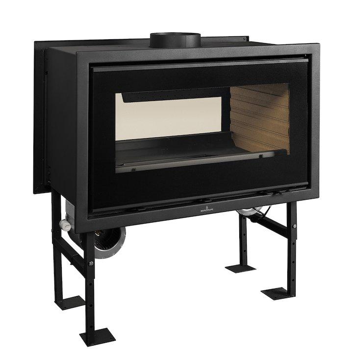 Bronpi Panama-D Wood Cassette Fire - Tunnel - Black