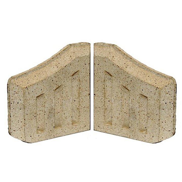 Manor Coal Saver Fire Bricks - Sides - Cream