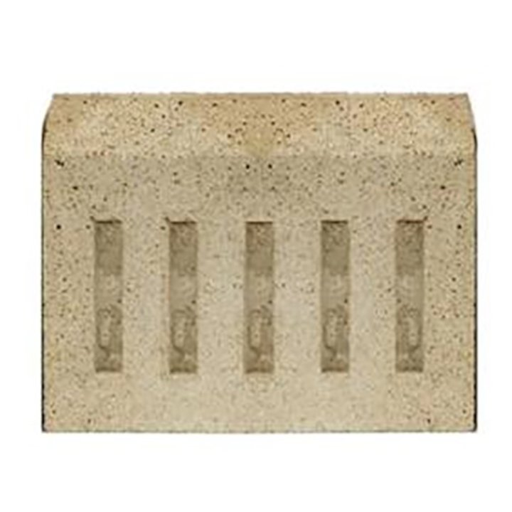 Manor Coal Saver Fire Bricks - Rear - Cream