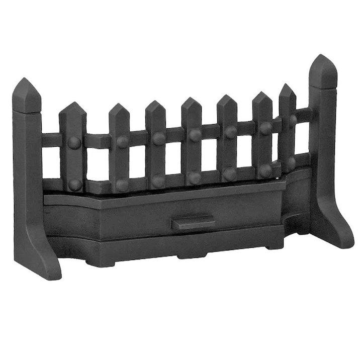 Manor Guardette Solid Fuel Fire Front/Fret - Black