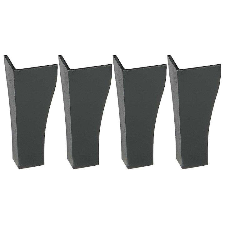 Calfire Plain Swansnest Legs - Black