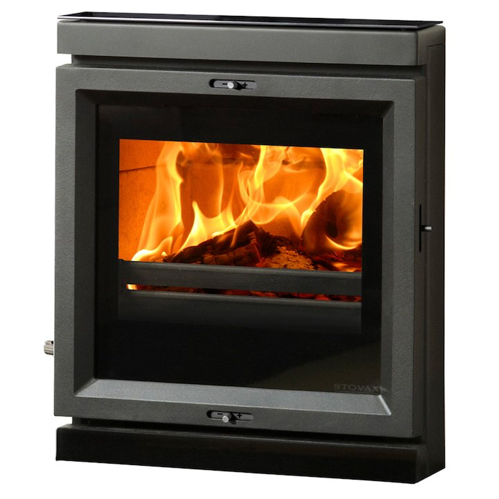 Stovax View 7 Multifuel Inset Stove - Black