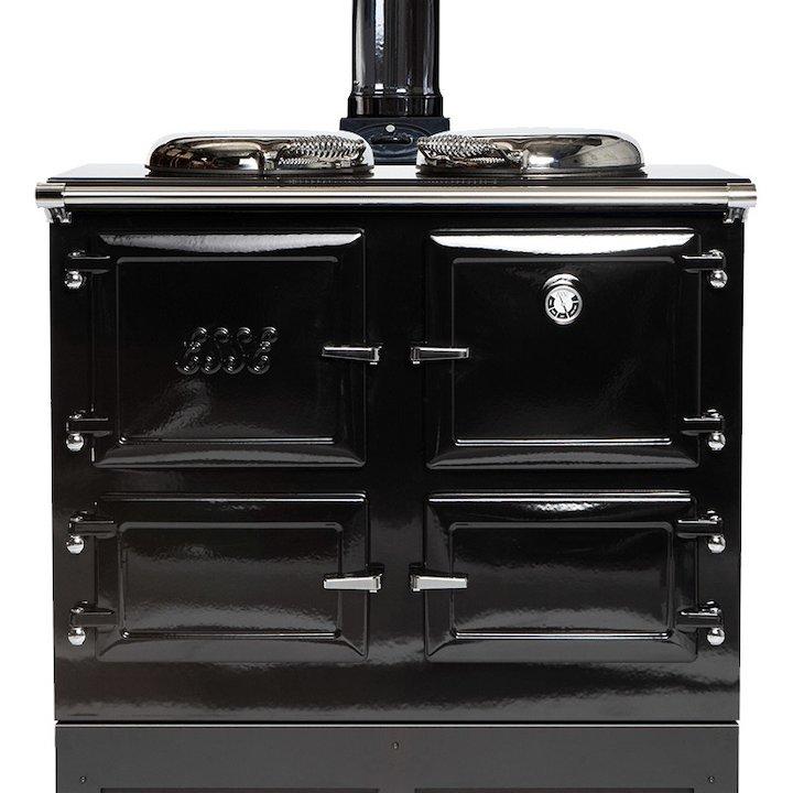 ESSE 990 WN Wood Burning Range Cooker - Enamel Black