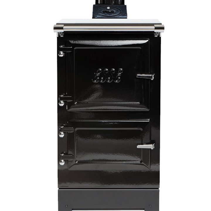 ESSE Plus 1 Wood Burning Cooker - Enamel Black