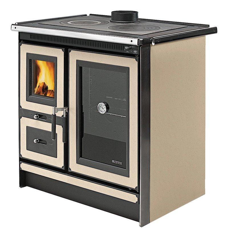 La Nordica Italy Wood Burning Range Cooker - Magnolia