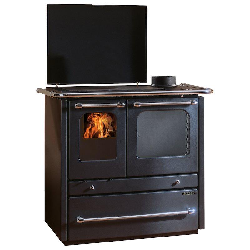 La Nordica Sovrana Evo Wood Burning Range Cooker - Anthracite
