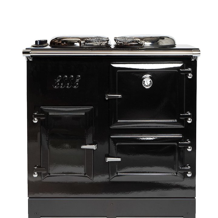 ESSE EL13 Electric Range Cooker - Enamel Black