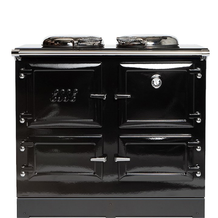 ESSE EL990 Electric Range Cooker - Enamel Black