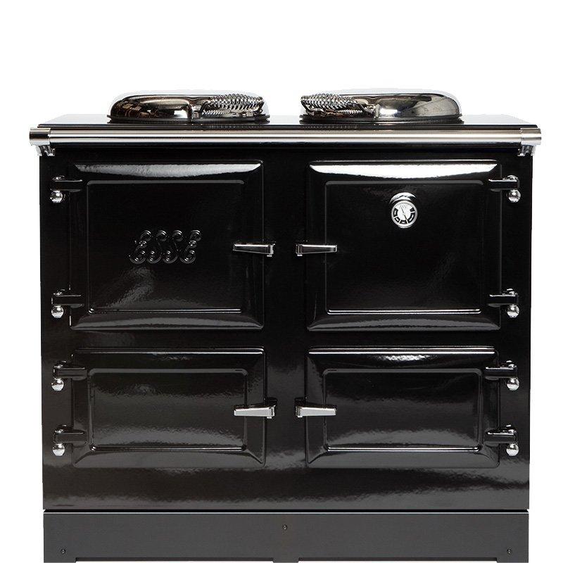ESSE EL990 Electric Range Cooker - Enamel Black