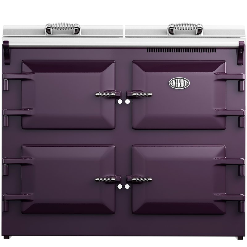 Everhot 110 Plus Electric Range Cooker - Enamel Aubergine