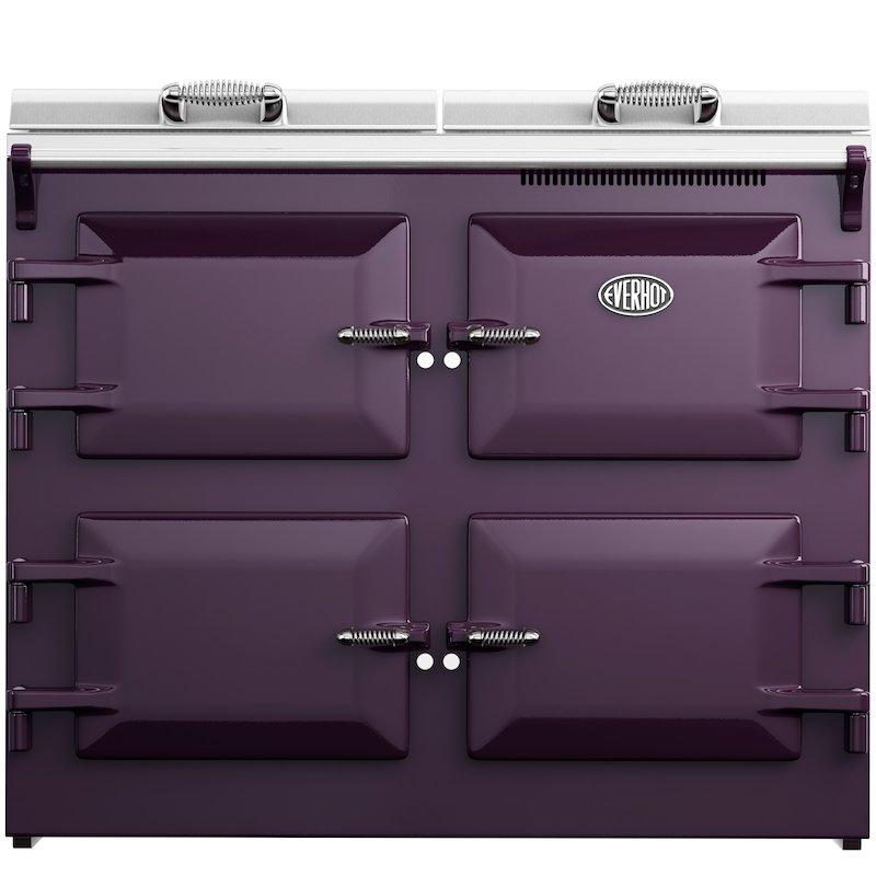 Everhot 110i Induction Electric Range Cooker - Enamel Aubergine