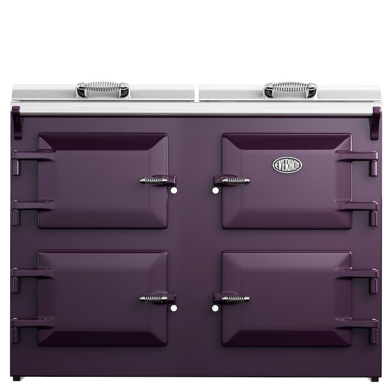 Everhot 120i Induction Electric Range Cooker - Enamel Aubergine