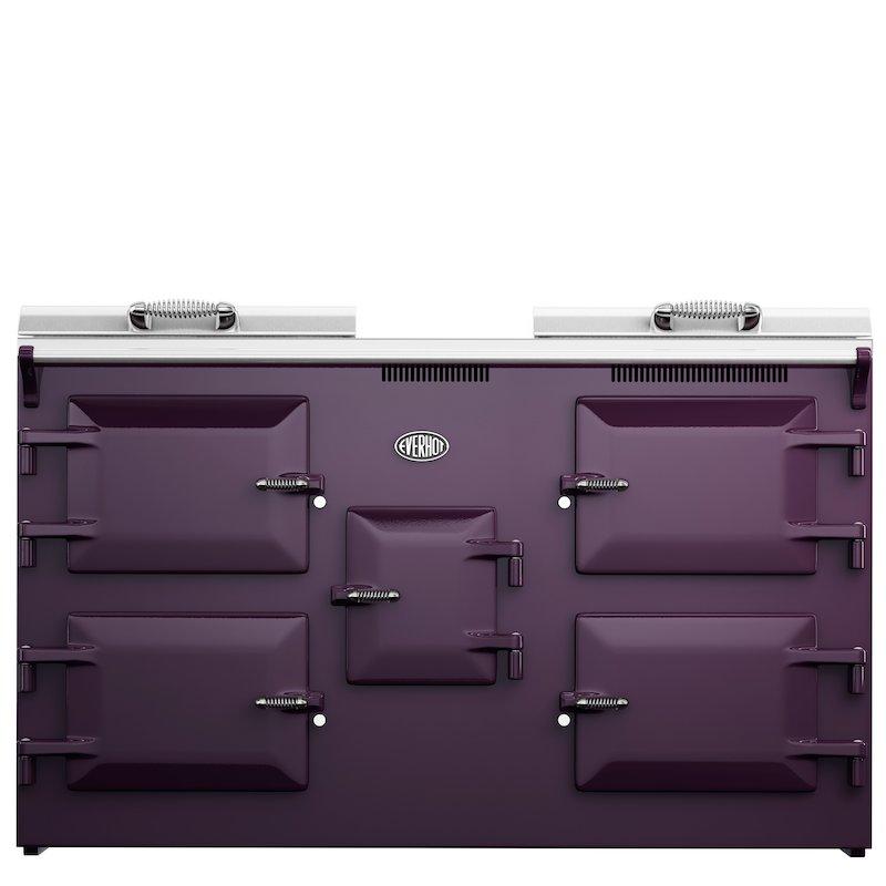 Everhot 150 Plus Electric Range Cooker - Enamel Aubergine