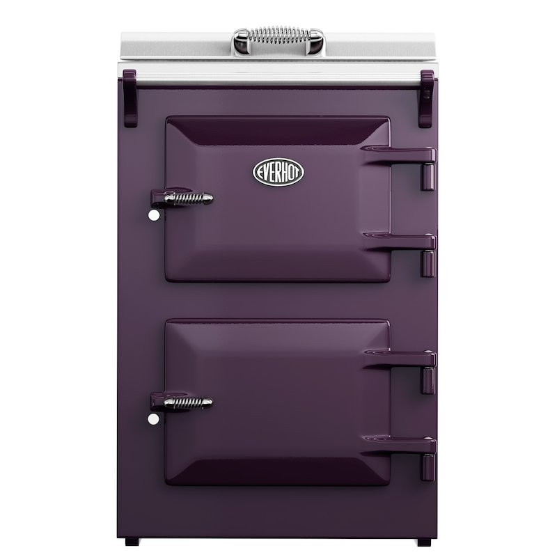 Everhot 60 Electric Cooker - Enamel Aubergine