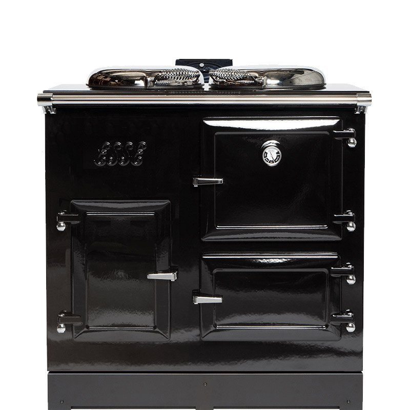 ESSE 905 CAT Flueless Gas Range Cooker - Enamel Black