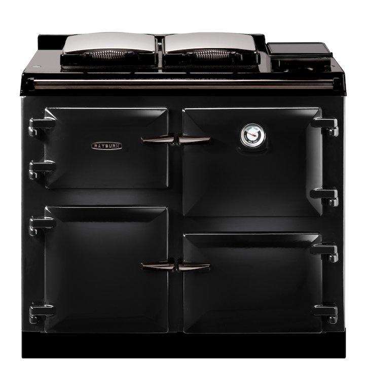 Rayburn 600K Kerosene Oil Range Cooker - Enamel Black