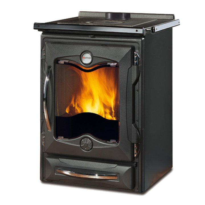 La Nordica Thermo Cucinotta DSA Wood Burning Boiler Cooker - Anthracite