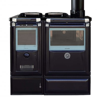 Lacunza Vulcano 7TE5 Wood Burning Boiler Range Cooker