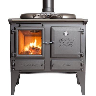 ESSE Ironheart Solid Fuel Boiler Cooker Anthracite Standard