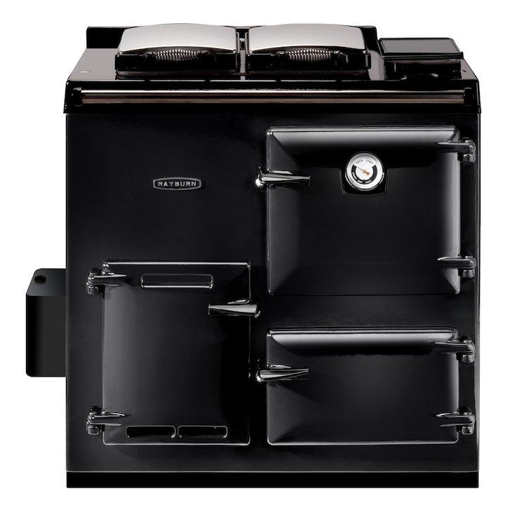 Rayburn Heatranger 308K Kerosene Oil Boiler Range Cooker - Enamel Black