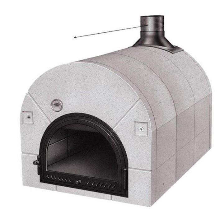 Piazzetta Chef 102 Outdoor Pizza Oven - White