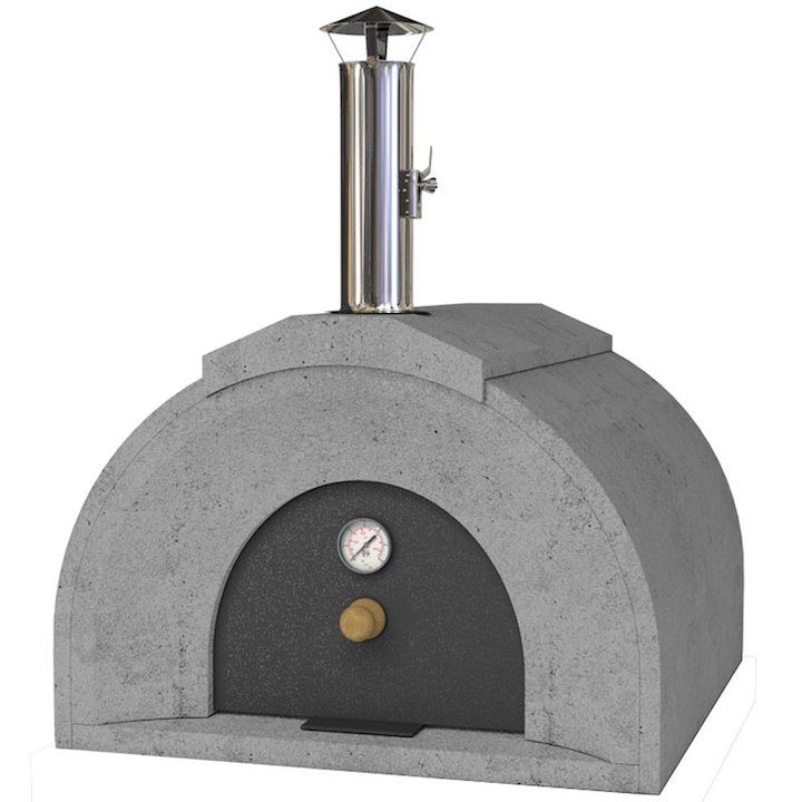 Vitcas Casa Outdoor Stone Pizza Oven - Grey