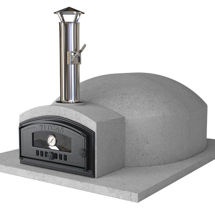 Vitcas Pompeii 100 Outdoor Stone Pizza Oven - Grey