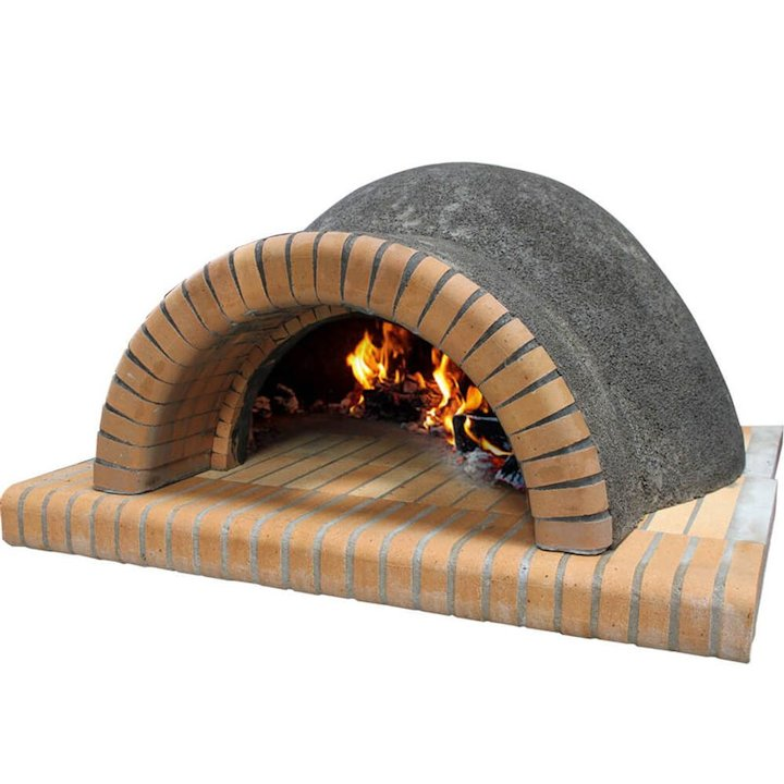 Vitcas Large Outdoor Brick Pizza Oven - Grey
