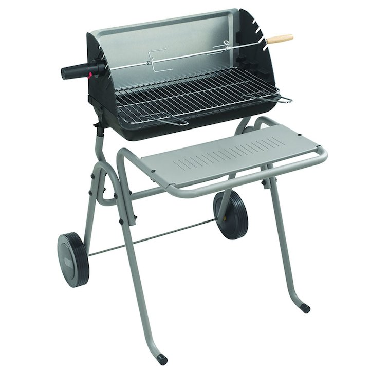 Invicta Victoria Cast-Iron Charcoal BBQ - Grey