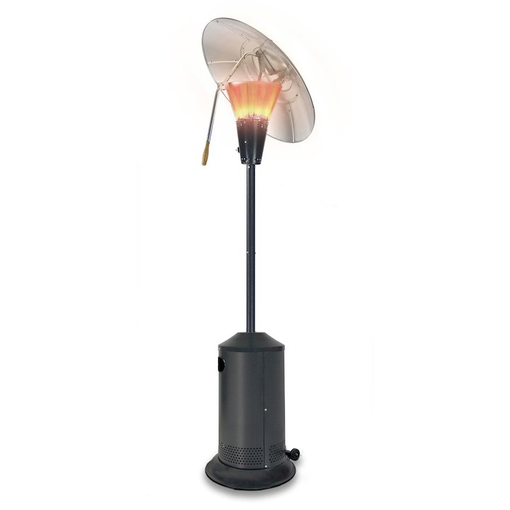 Sahara 13KW Heat Focus Gas Patio Heater - Charcoal
