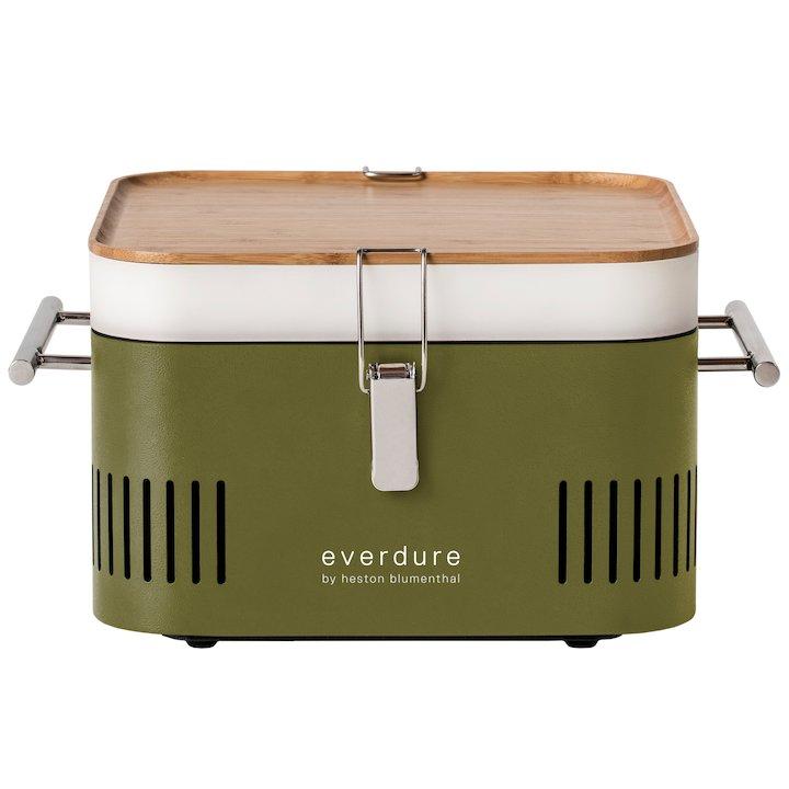 Everdure Cube Portable Charcoal BBQ - Khaki