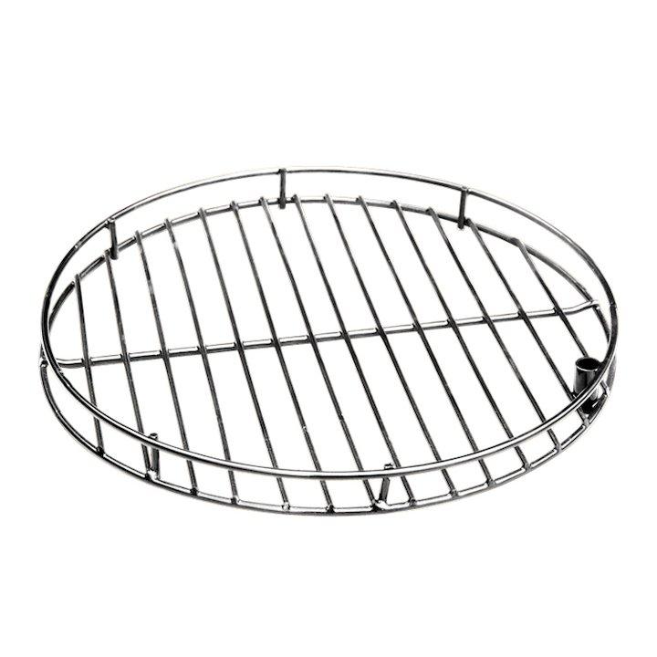 Gardeco Swivel Steel BBQ Grill - Silver