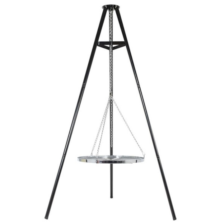 La Hacienda Tripod Cooking Grill - Black